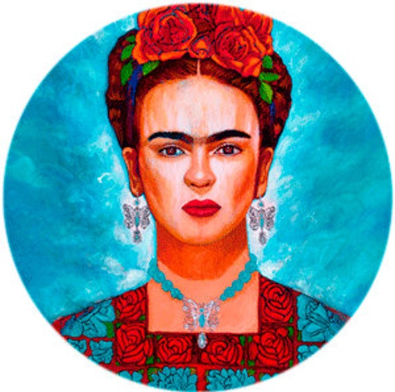 Frida entre Mariposas Phone Grip