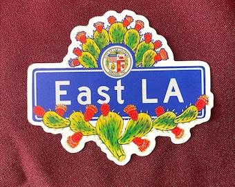 "East LA Sticker (4"" X  3.5"")"