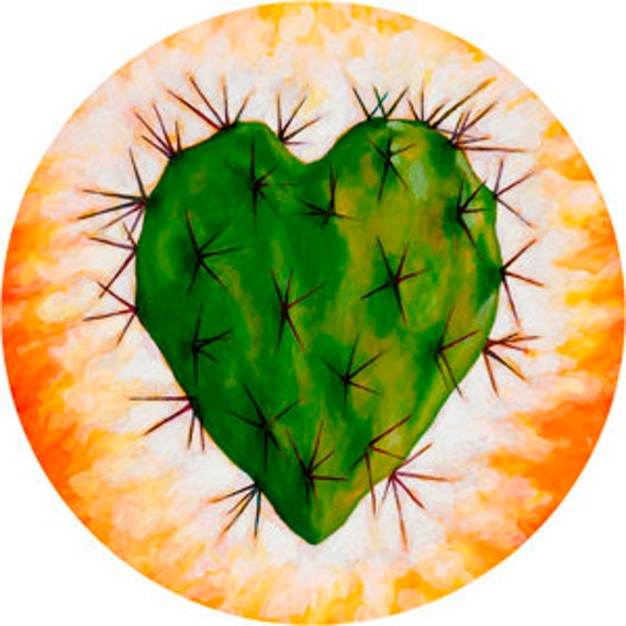 Corazon Nopal  Phone Grip
