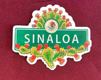 """Sinaloa Sticker (4"""" X  3.5"""")"""
