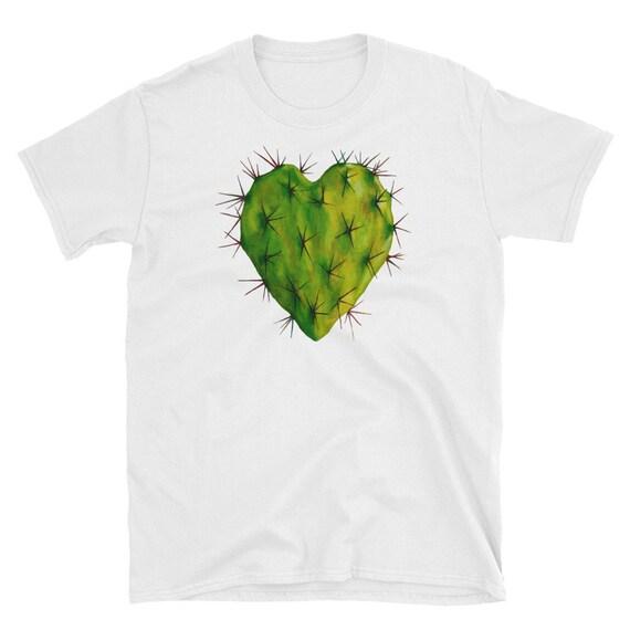 Corazon Nopal Short-Sleeve Unisex T-Shirt