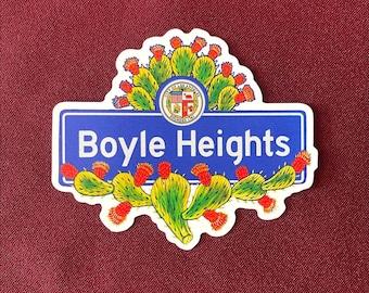 """Boyle Heights Sticker (4"""" X  3.5"""")"""