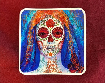 "Catrina Sticker (4"" X  4"")"