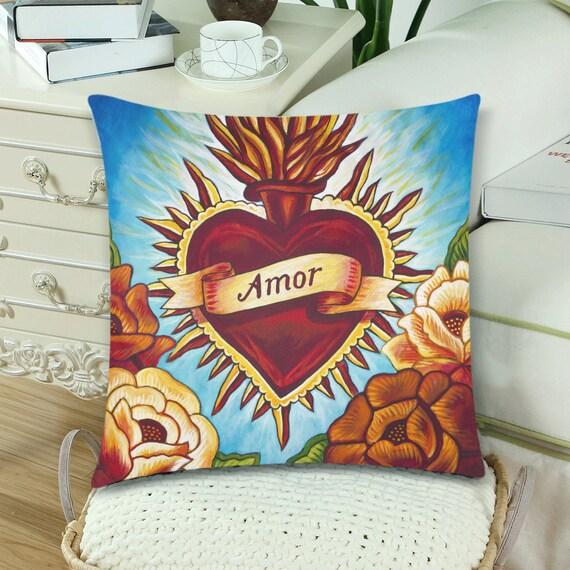 Corazon Amor Pillow