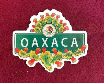 "Oaxaca Sticker (4"" X  3.5"")"