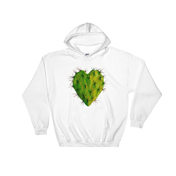 Corazon Nopal Hooded Sweatshirt