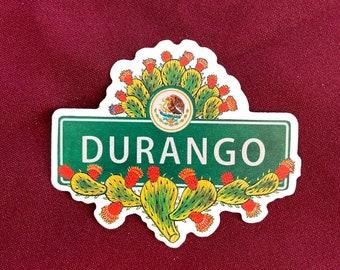 """Durango Sticker (4"""" X  3.5"""")"""