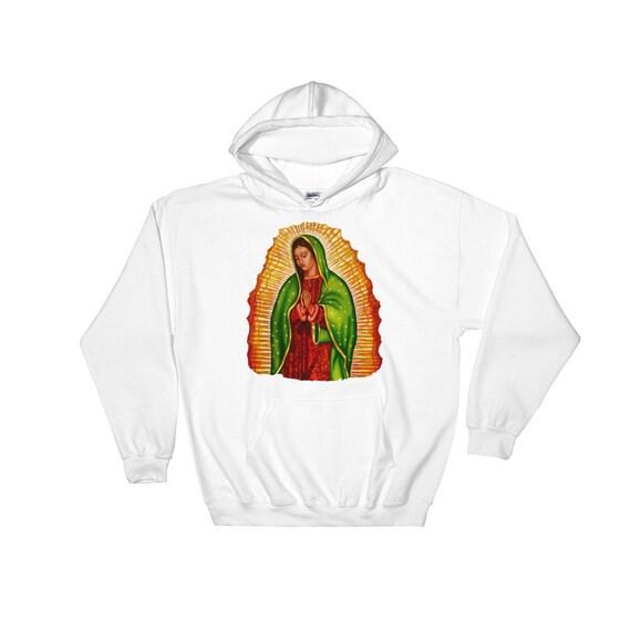 Virgen de Guadalupe Hooded Sweatshirt