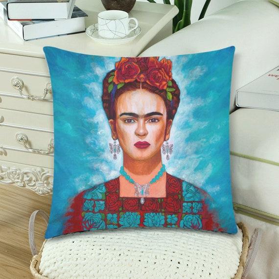 Frida y sus Mariposas Pillow
