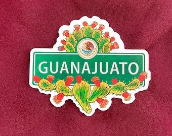 """Guanajuato Sticker (4"""" X  3.5"""")"""