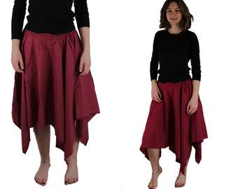 Long Pixie Skirt / Fantasy Skrit / Fairy Skirt