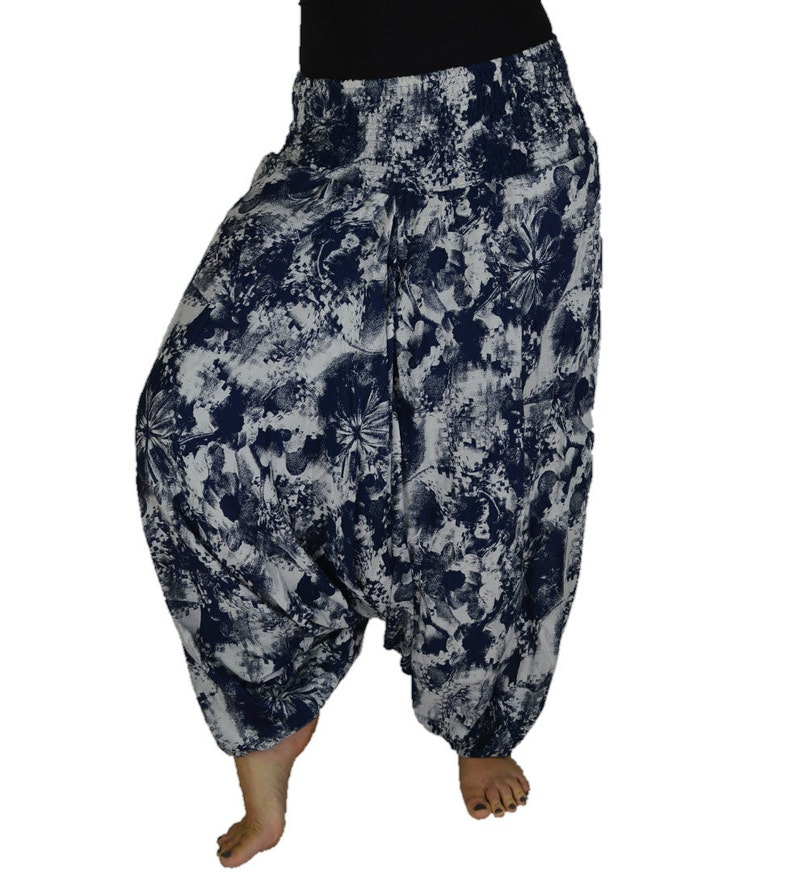 Plus Size Harem Pants with Long Length