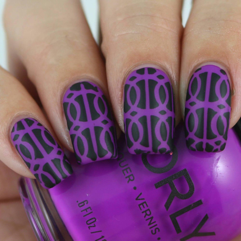 Rings Nail Art Nail Vinyls Nail Stencils Nail Decals Nail