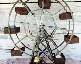 Ferris wheel   Etsy on homemade pirate ship plans, homemade airplane plans, homemade skee ball plans, homemade swing plans, homemade car plans, homemade water slide plans,