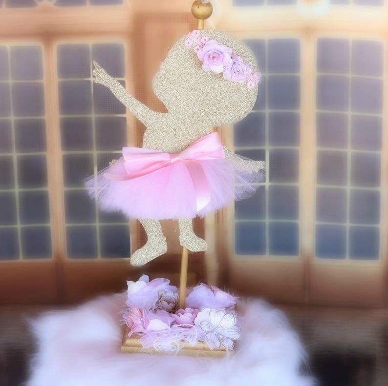 Bailarina Centro De Mesa Bailarina Chica De Bebe Bebe Ducha Etsy