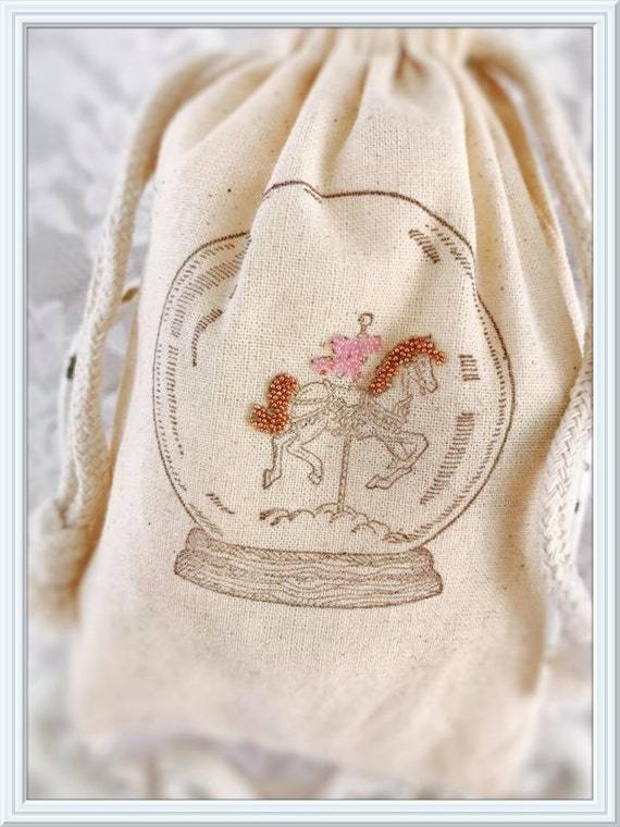 Carousel Horse Favor Bags Carousel Horse Party Decorations Etsy