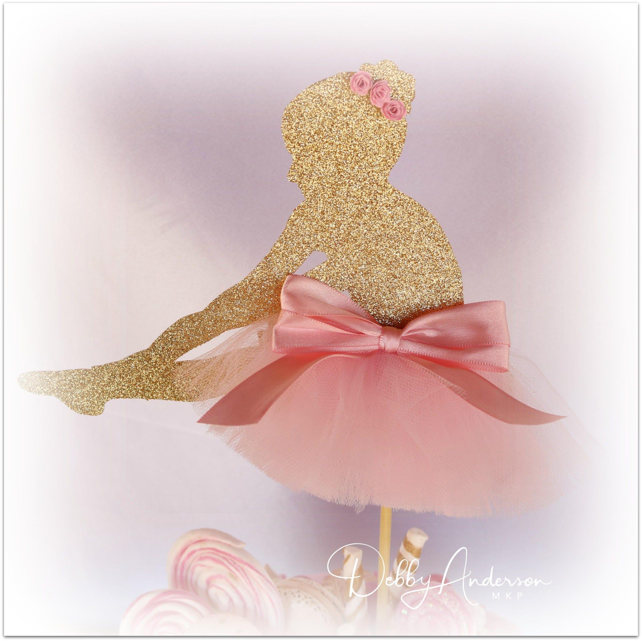 Ballerina Cake Topper Ballet Cake Topper Ballerina Party   Etsy