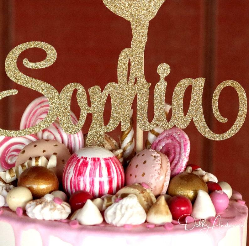 43107cf01546f Rhythmic Gymnastic Cake Topper, ANY NAME COLORS, Gymnastic Birthday Party,  Gymnastic Decorations, Ribbon Wand, Girls Birthday Party, Sports