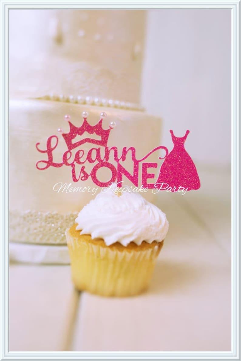 Princess Cake Topper First Birthday