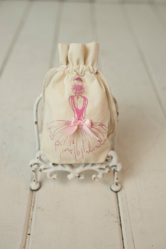 Favor bolsa Ballet niña bailarina cumpleaños fiesta