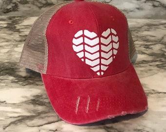 c5115ec47a518 Cute chevron hat