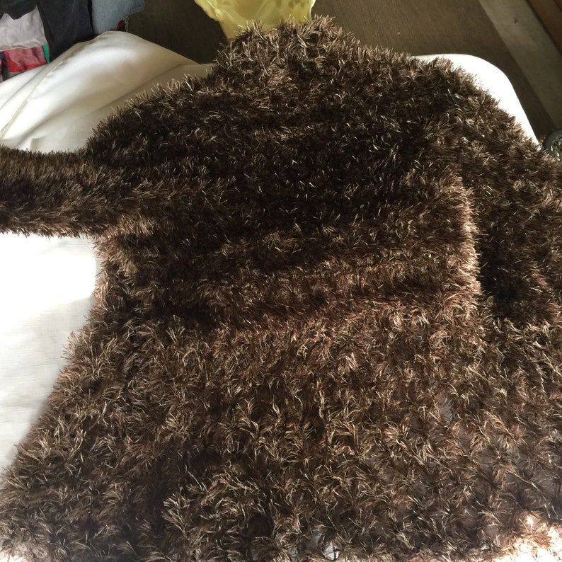 4c3e3475c Brown Fuzzy SweaterBrown Fuzzy CardiganBrown CardiganBrown