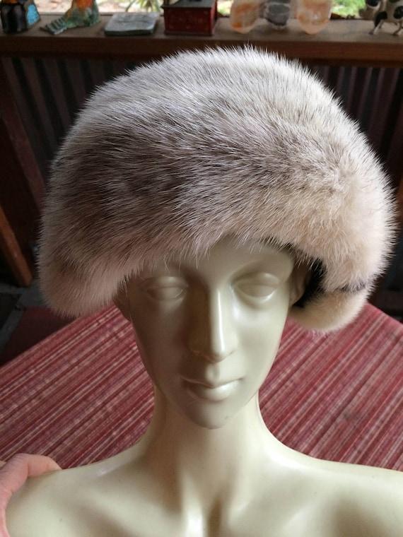 Retro Fur Hat, Retro Winter Hat,New York Hat,Winte