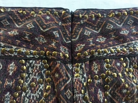 India mini skirt,Bead Mini Skirt,Exotic Mini Skir… - image 2