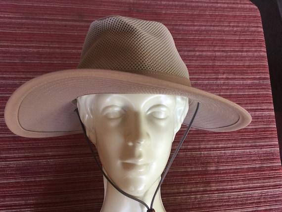 Beige Sun Hat, Beige Brim Hat, Wide Brim Hat, Hens