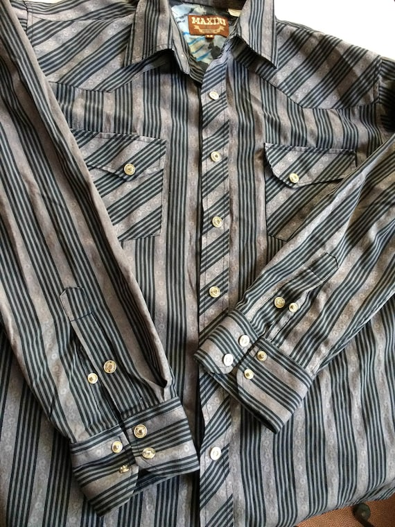 Cowboy Shirt,Modern Cowboy Shirt,Urban Cowboy Shir