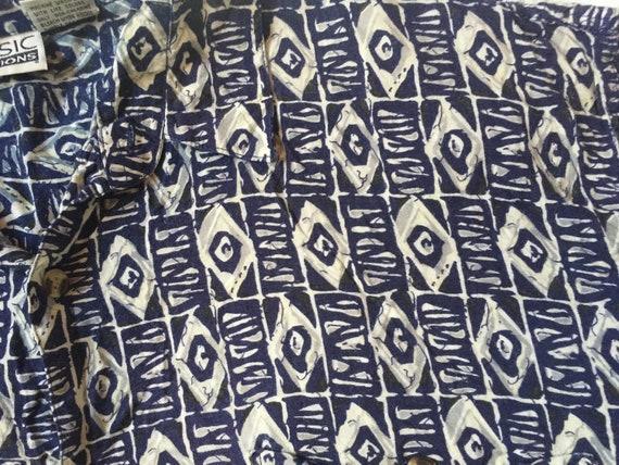 Retro Casual Shirt,Tropical Shirt,Rayon Shirt,Tik… - image 7