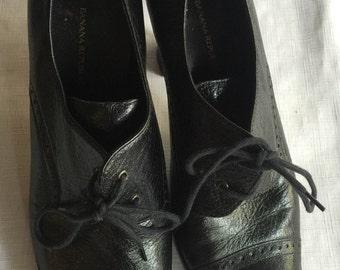 Black High Heel Boot,Black Lace Up Boot,Black Bootie,Lace Up Black Bootie,Lace Up Black Boot,Black Leather Pump,Black Boot,Black Retro Shoe