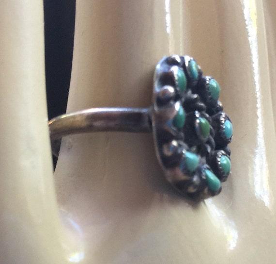 Turquoise Ring,Hippie Ring,Turquoise Stone Ring,N… - image 2