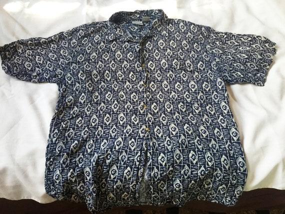 Retro Casual Shirt,Tropical Shirt,Rayon Shirt,Tik… - image 2