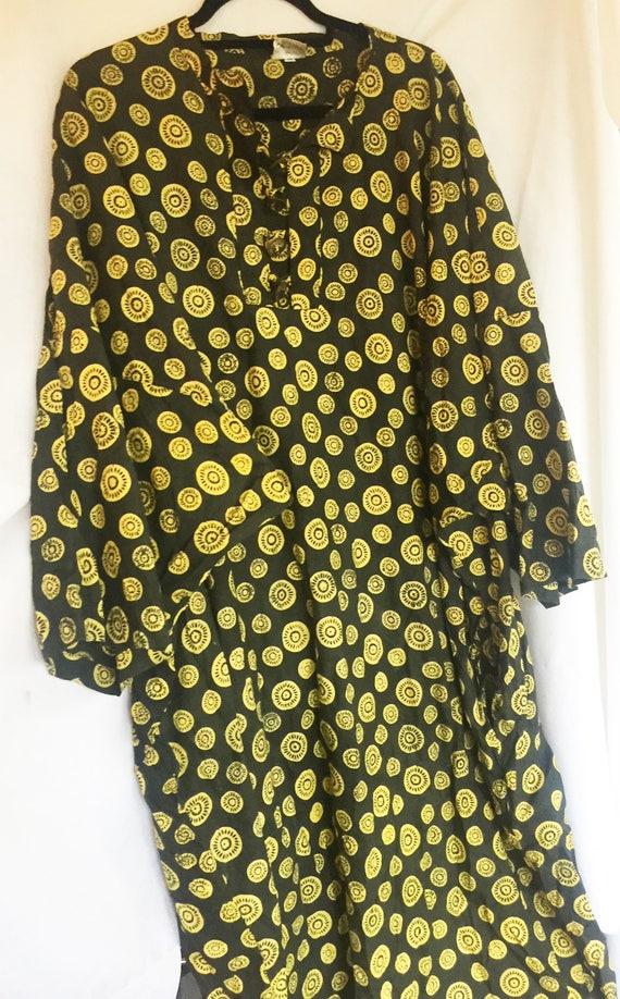 Caftan, Tropical Caftan, Africa Dress, Tropical Dr