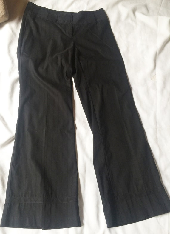 Wide Black Pant, Black Baggy Pant, Black Slouchy P