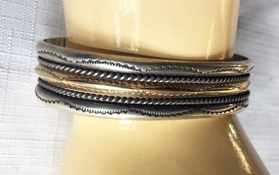 Silver Cuff Bracelet, Silver Cuff, Thick Metal Cuf