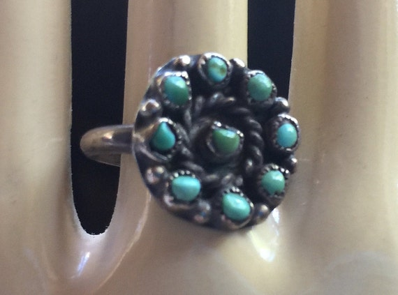 Turquoise Ring,Hippie Ring,Turquoise Stone Ring,Na