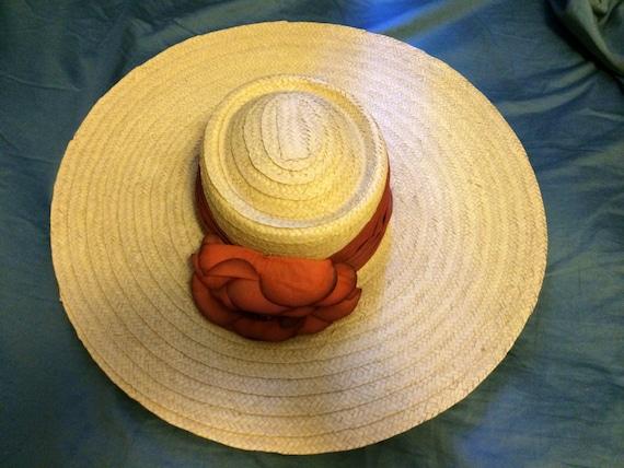 Wide Brim Hat,Straw Hat,Beach Hat,Sun Hat,Designer