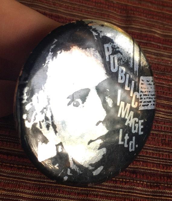 Public Image Pin, PIL, Public Image, Johnny Rotten