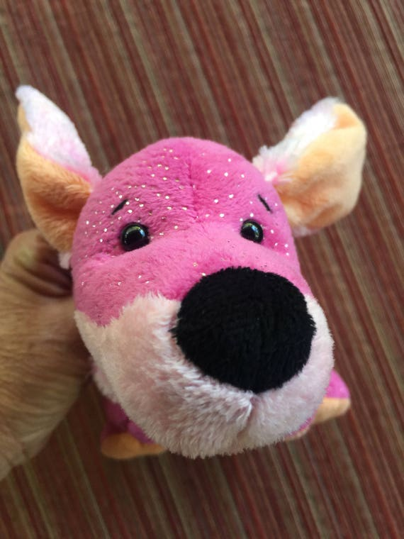 Pink Stuffed Dogpink Dogpink Puppypink Dachsundvalentine Etsy