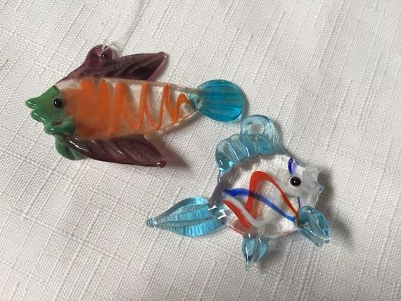 Blown Glass Fish Fish Ornament Glass Fish Hanging Glass Etsy