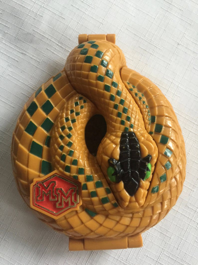 Snake Game,Snake Toy,Mighty Max,Doom Zones,Bluebird Toys,Polly Pocket,90s Game,Collectible Snake,Snake Gift,90s Toy,Plastic Snake Snake Box
