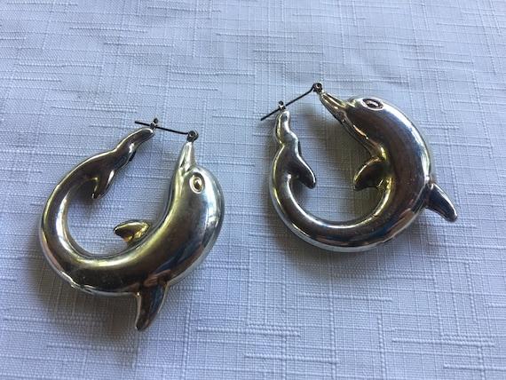 Dolphin Earring, Boho Dolphin Earring, Hippie Dang