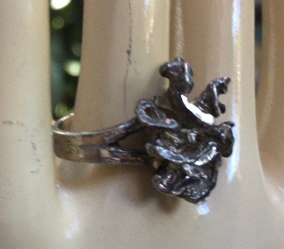 Modern Silver Ring, 925 Ring, Size 6 Ring, Silver… - image 5
