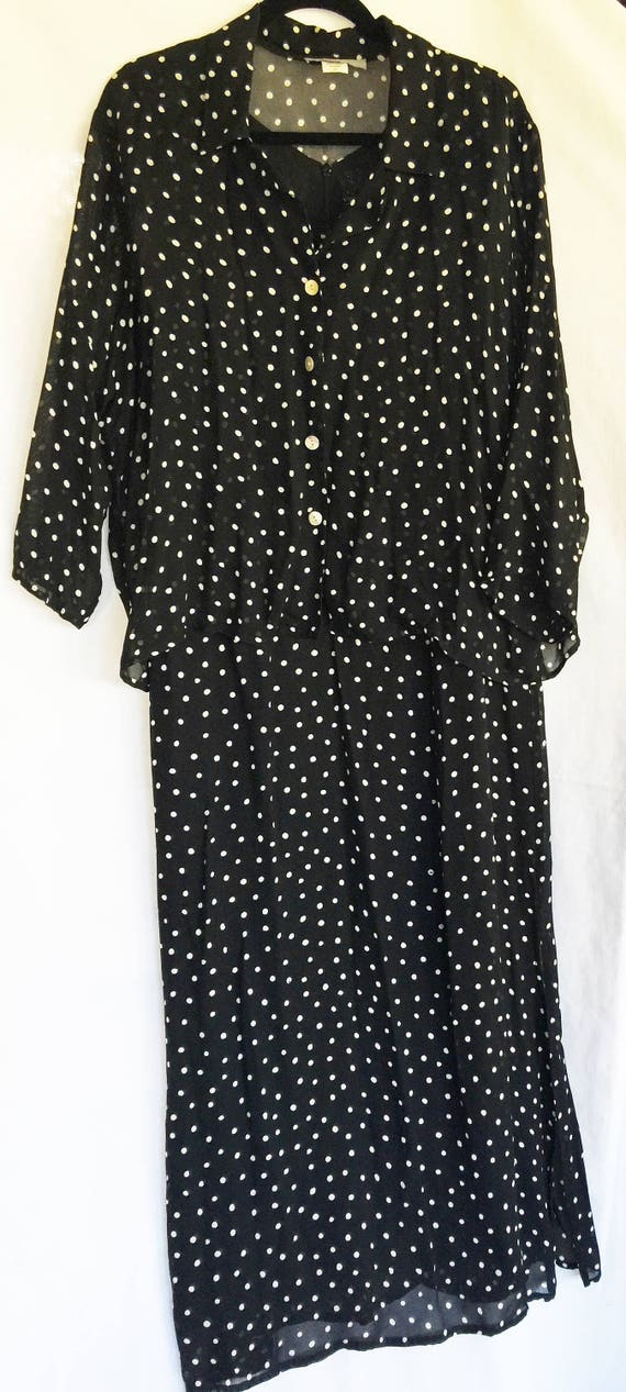 Black Long Dress, Black XL Dress, Carol Anderson,P