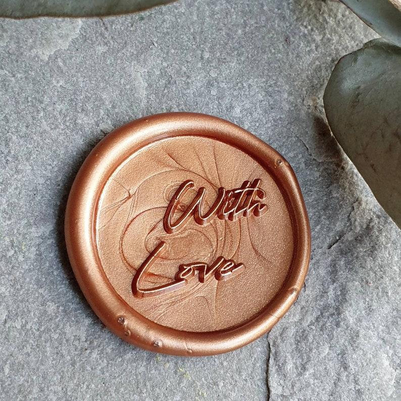 Wax seal,wax seals,self adhesive wax seal,with love seal,wedding wax seal,envelope seal