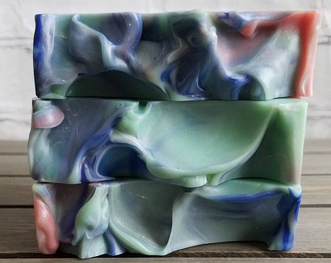 Featured listing image: Who's That Girl Cold Process Soap