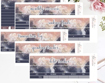 BUDGET KIT   Budget Stickers   Planner Stickers   1846