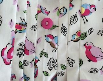 Summer dress 5yrs Rose &Hubble Bird fabric